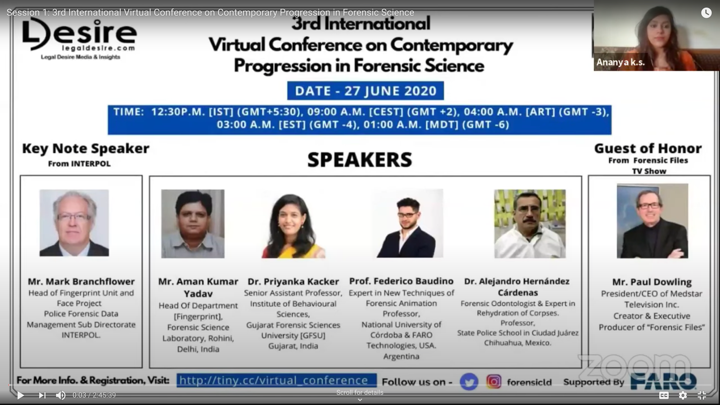 3rd International Virtual Conference